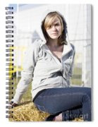 Casual Country Girl Spiral Notebook