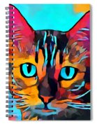 Cat 10 Spiral Notebook