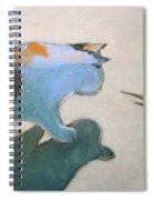 Cat And Lizard  Spiral Notebook