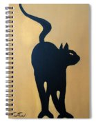 Cat Dance..... Optical Illusion Spiral Notebook