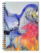 Cat Dragon Spiral Notebook