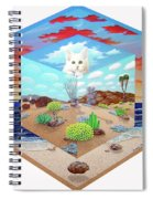 Cat In The Box Spiral Notebook