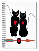 Cat Love Spiral Notebook