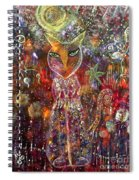 Cat Magic Spiral Notebook