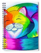 Cat Napping Spiral Notebook