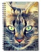 Cat Simba Spiral Notebook