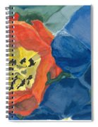 Cat Tulip Spiral Notebook