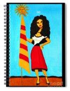 Catalan Lady / La Ramona Spiral Notebook