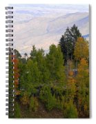 Catalina Mountains In The Fall Spiral Notebook
