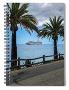 Catalina Palms Spiral Notebook