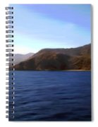 Catalina Shoreline Spiral Notebook