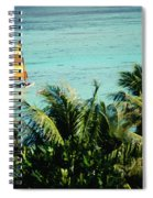 Catamaran On Tumon Bay Spiral Notebook