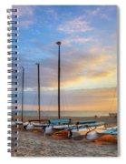 Catamarans In The Sun Spiral Notebook