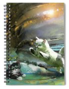 Catapult Of Love Spiral Notebook