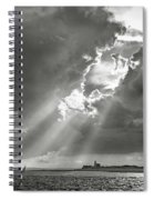 Catboats Sailing In Barnstable Harbor Spiral Notebook