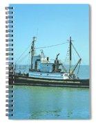 Catch Boat Allen Cody For Del Monte Fishing Co. Taken On July 5  Spiral Notebook