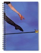 Catching Butterflies Spiral Notebook