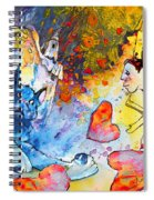 Catching Love Spiral Notebook