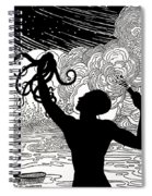 Catching Octopus Spiral Notebook