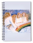 Catching Rainbows Spiral Notebook