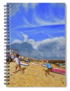 Catching The Ball, St Ives Spiral Notebook