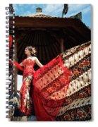 Catching The Breeze Spiral Notebook