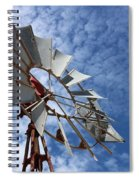 Catching The Breeze Spiral Notebook
