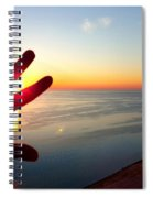 Catching The Sunset At Sleeping Bear Spiral Notebook