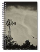 Catching The Updraft Spiral Notebook