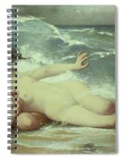 Catching Waves  Spiral Notebook