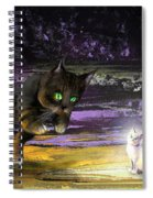 Catechismic Apparition Spiral Notebook