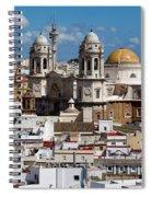 Catedral De Cadiz Spiral Notebook