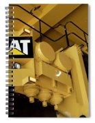 Caterpillar 797f Mining Truck 02 Spiral Notebook