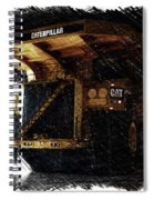 Caterpillar 797f Mining Truck Pa  Spiral Notebook