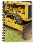 Caterpillar D2 Bulldozer 01 Spiral Notebook