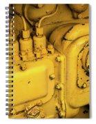 Caterpillar D2 Bulldozer 06 Spiral Notebook