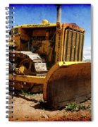 Caterpillar Twenty Two Spiral Notebook