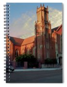 Cathedral At Dawn Spiral Notebook