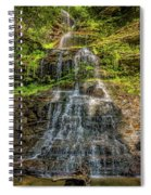 Cathedral Falls 3 Spiral Notebook