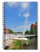 Cathedral Green Bridge At Derby Spiral Notebook
