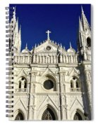 Cathedral In El Salvador Spiral Notebook