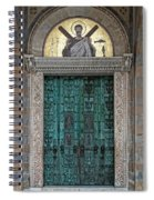Cathedral Of Amalfi Door Spiral Notebook