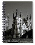 Cathedral Of Canterbury Spiral Notebook