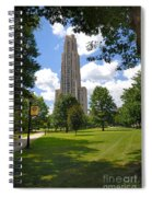 Cathedral Of Learning University Of Pittsburgh Spiral Notebook