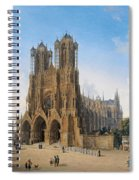 Cathedral Of Notre-dame At Reims Spiral Notebook