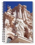Cathedral Of Siracusa Spiral Notebook