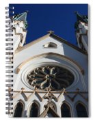 Cathedral Of St John The Babtist In Savannah Spiral Notebook