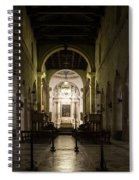 Cathedral Of Syracuse - Duomo Di Siracusa - An Ancient 2500 Years Old Greek Temple Spiral Notebook