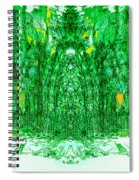 Cathedral Of Trees Spiral Notebook