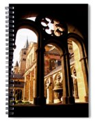 Cathedral Of Trier Window Spiral Notebook